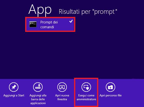 Ripristinare Windows 8