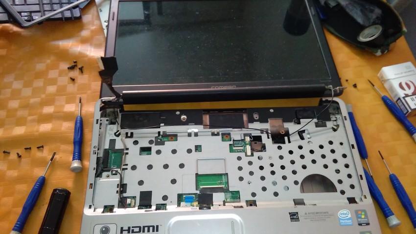 Problema Compaq Presario CQ60