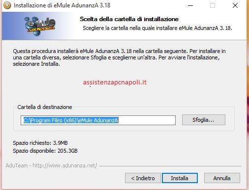 configurare emule con windows 10