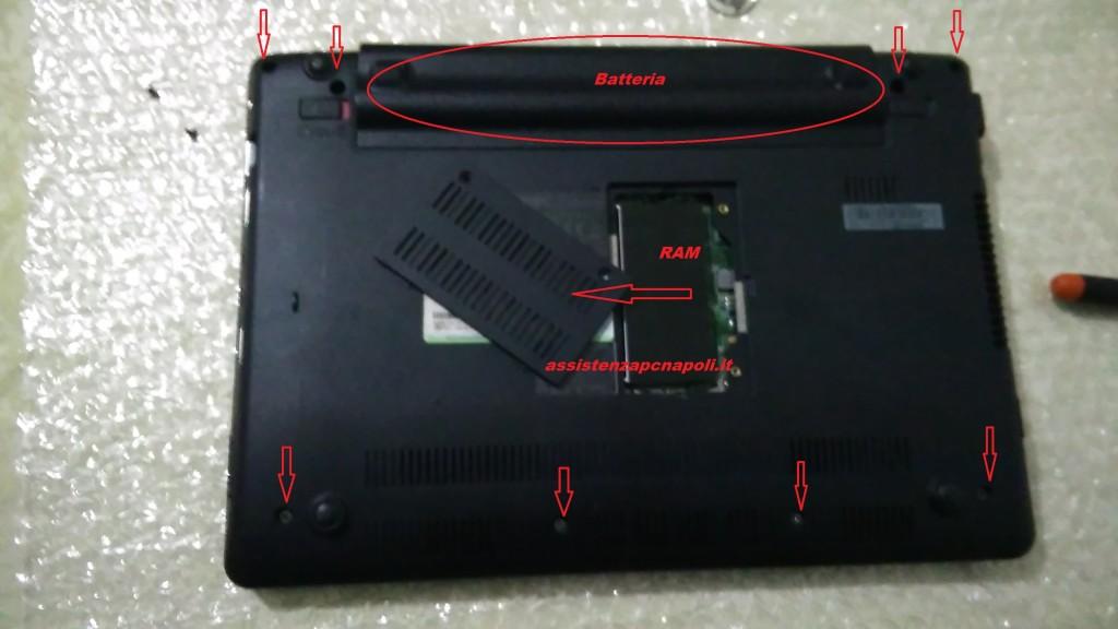 Problema computer Asus Eee PC 1201T