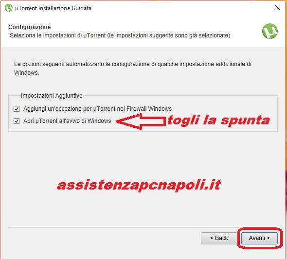 Guida come installare uTorrent