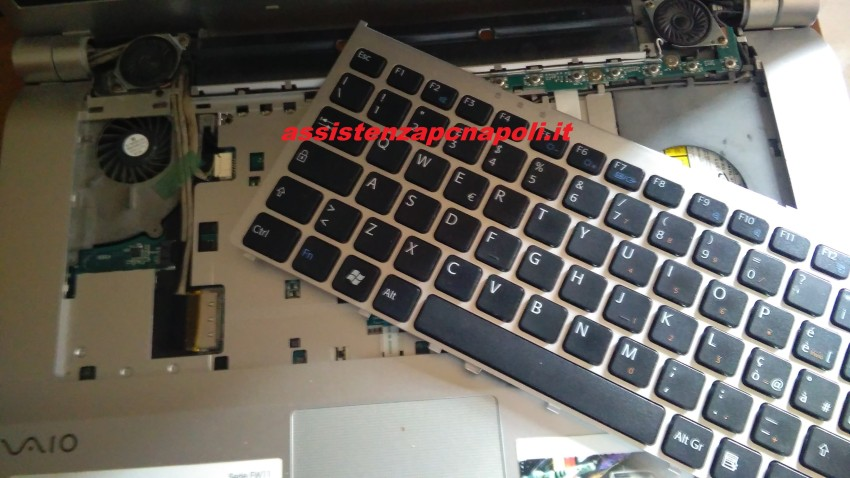 Problema Sony Vaio VGN - FW11L