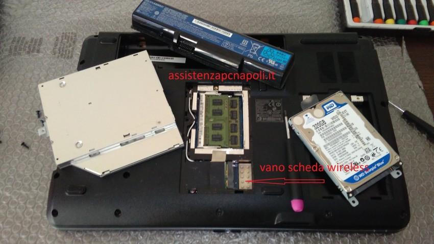 Problema Acer Aspire 5732 il WIFI non funziona.