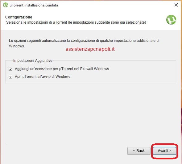 Come installare uTorrent su Windows 10
