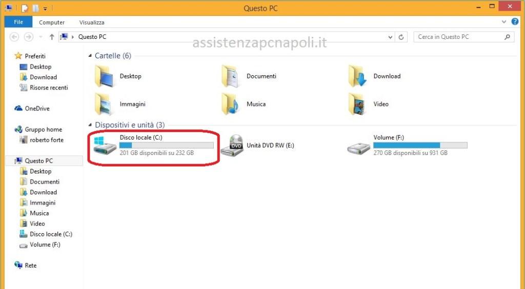 Come Deframmentare il disco rigido su Windows 8.1