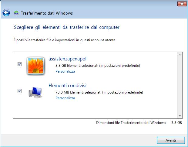 Come trasferire file e programmi da un PC a un altro
