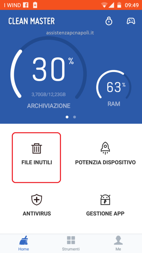 Come velocizzare Android con Clean Master