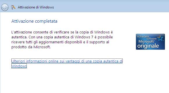 Come attivare Windows 7