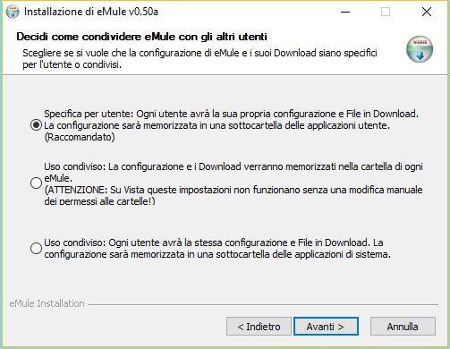 Come installare eMule su Windows 10