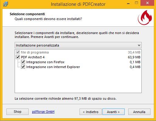 Guida installazione PDF Creator