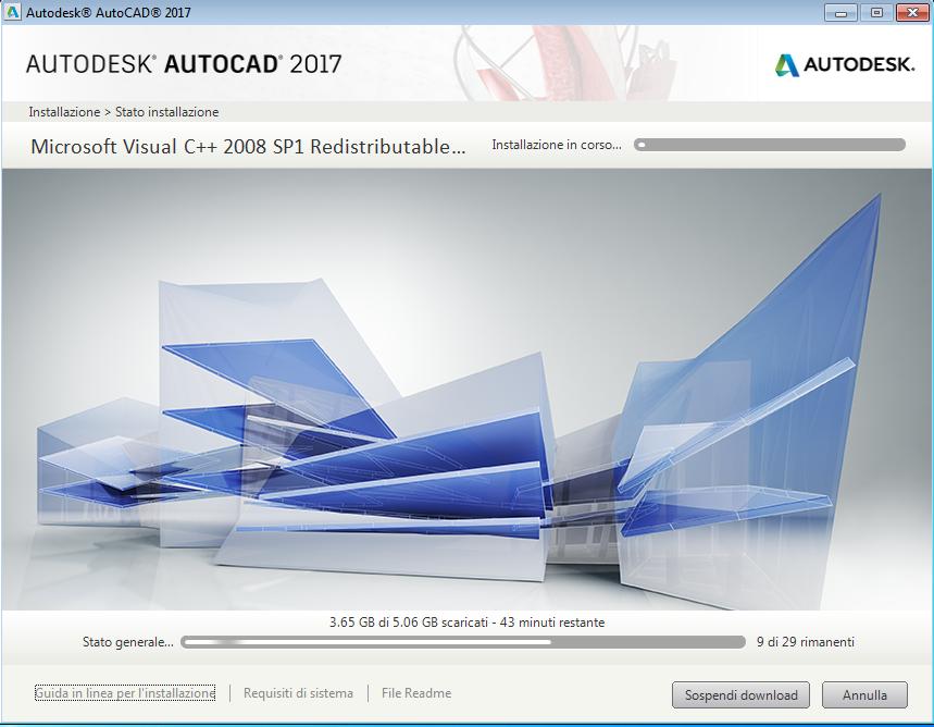 Come installare AutoCAD