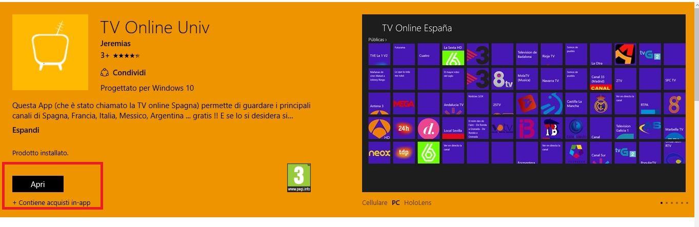 Come guardare la tv su windows 10 assistenza pc napoli for Guardare la tv