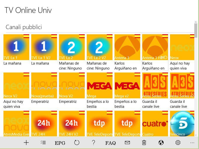 Come guardare la TV su Windows 10