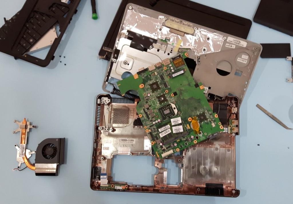 Problema HP Compaq Presario CQ61