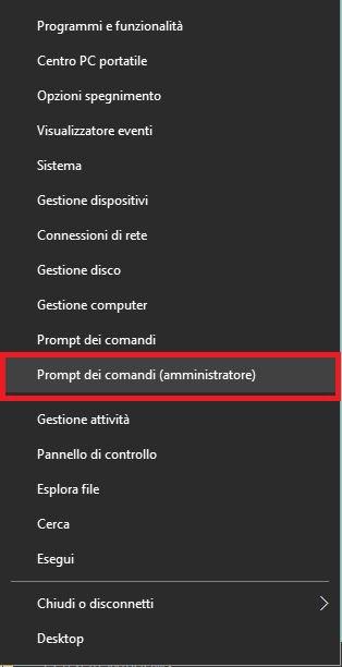 Come abilitare tasto F 8 su Windows 10