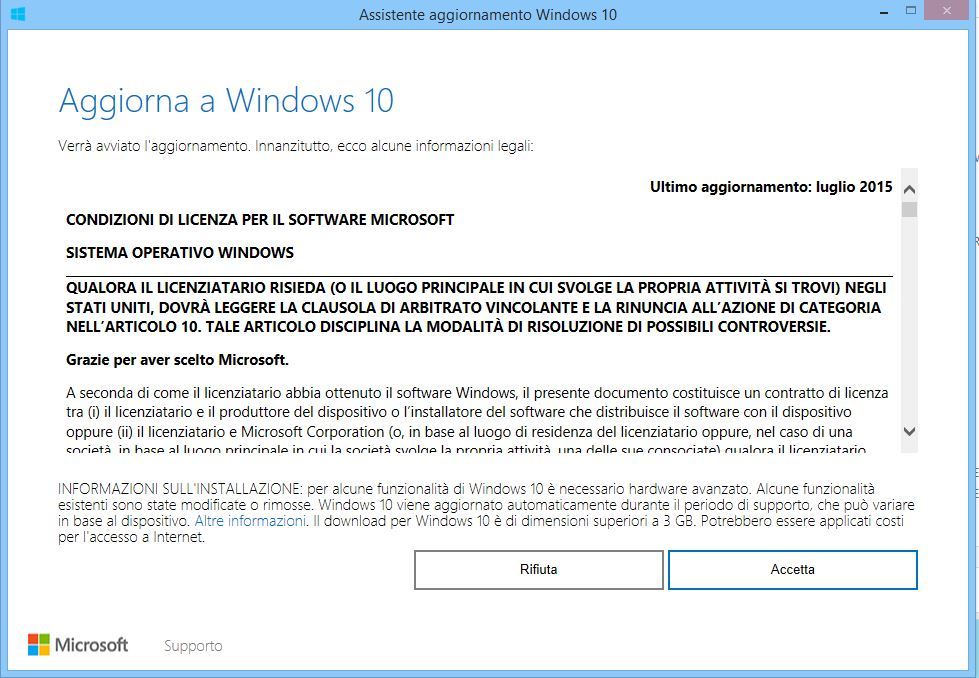 Come aggiornare a windows 10 dopo il cessato update for La licenza di windows sta per scadere