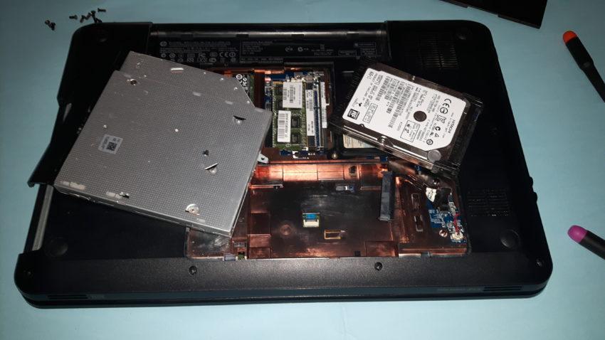 Problema schermata blu HP Pavilion g6 series