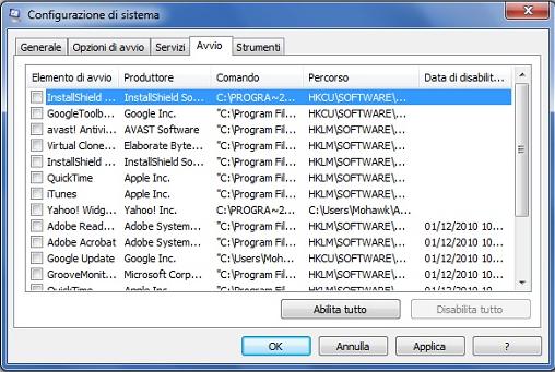 Come potenziare Windows 7 al massimo delle prestazioni