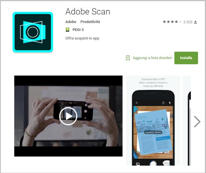 La migliore App per creare PDF su Android