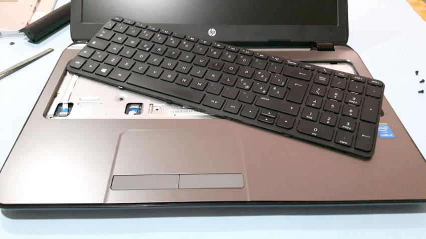 Problema HP 250 G3 si blocca