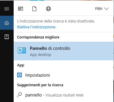 Attivare o creare il ripristino sistema su Windows 10