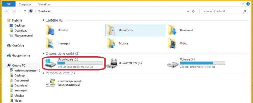 Come eliminare i file temporanei su Windows 8.1