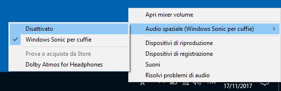 Migliorare audio Windows 10