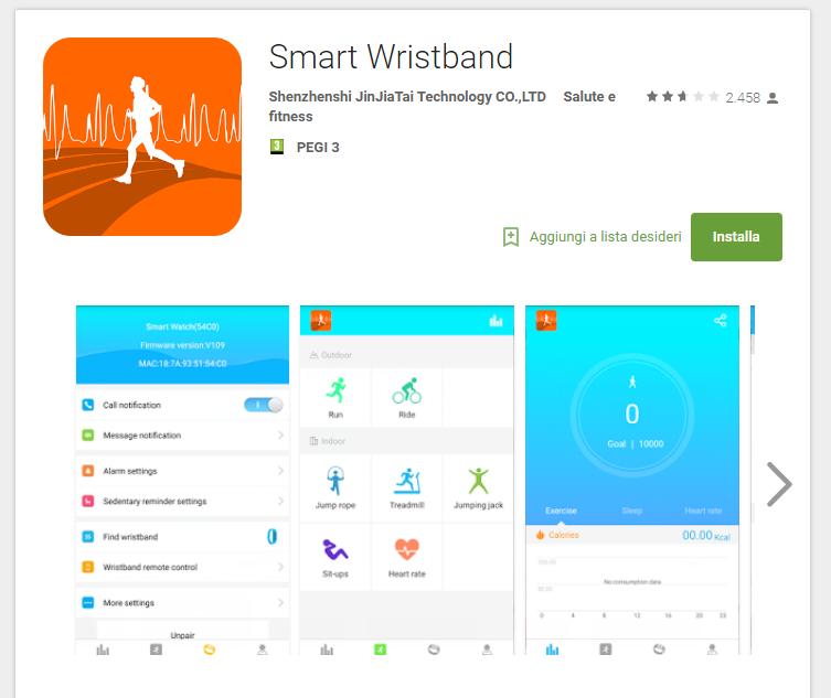 Come collegare lo Smartwatch al cellulare