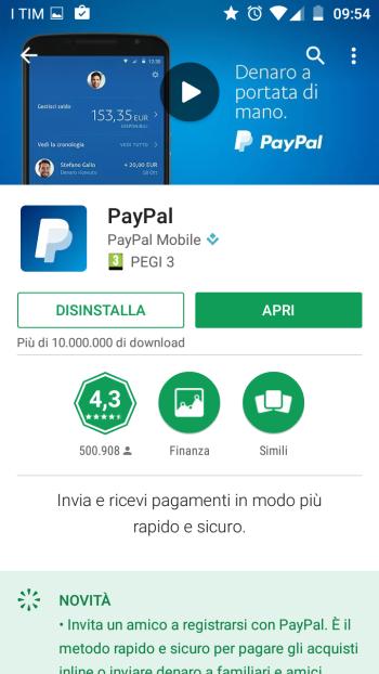 Come installare PayPal sul cellulare