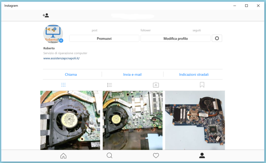 Come utilizzare Instagram su Windows 10