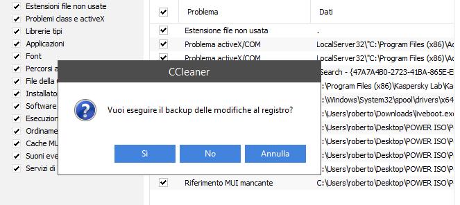Migliore programma per pulire Windows