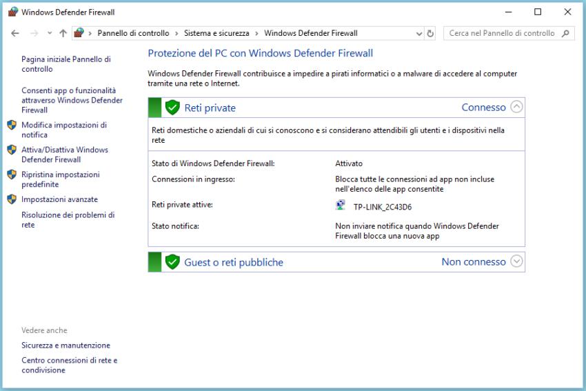Come aprire le porte di eMule in Windows 10