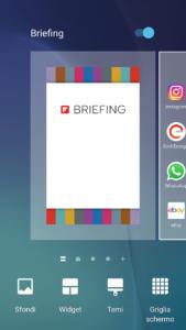 Come disattivare Briefing su Android
