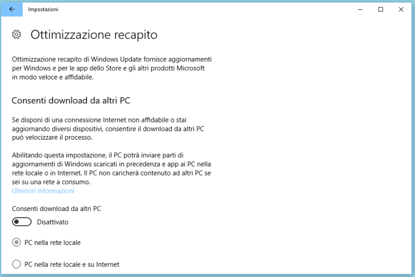 Velocizzare internet su Windows 10