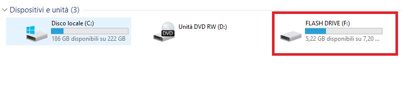 Come trasferire file di grandi dimensioni su USB