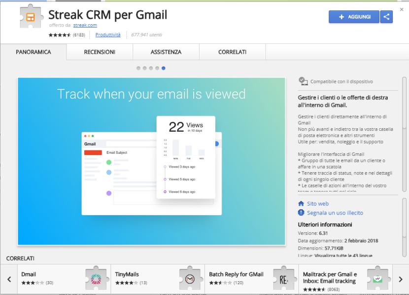 Come attivare la conferma di lettura con Gmail
