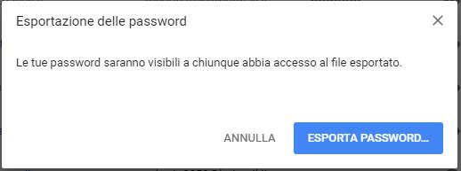 Come recuperare e salvare le password su Chrome