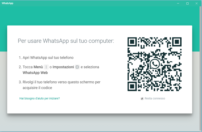 Come installare WhatsApp su Windows 10