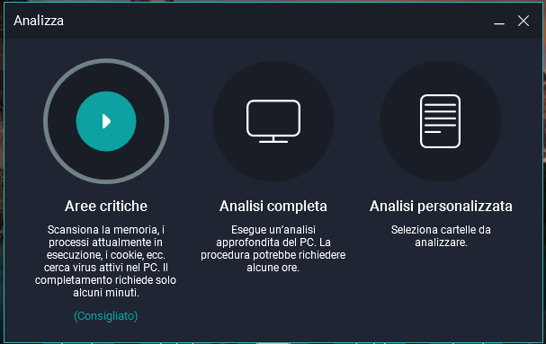 Migliore antivirus gratuito per Windows