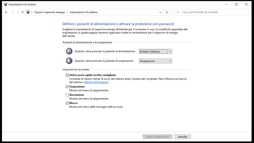 Cosa fare se windows 10 non si spegne