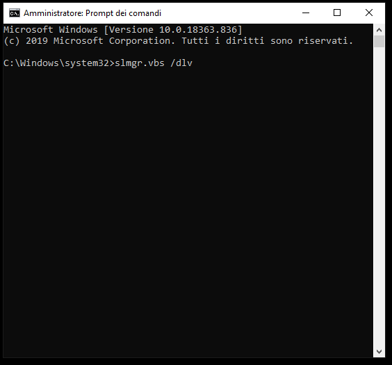 Come migrare la chiave di attivazione di Windows