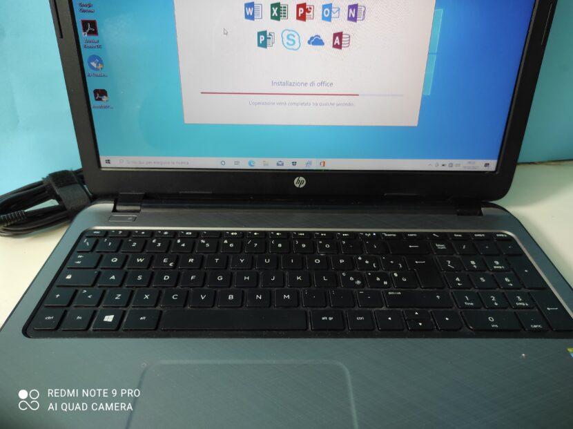 Notebook HP non si accende